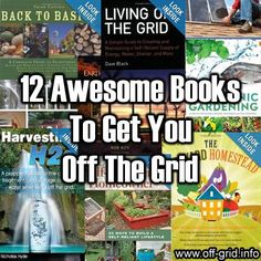 This fantastic collection of books provides tutorials on many aspects of the off-grid lifestyle – including building your own eco-home, harvesting water, generating your own power and growing [. Survival Food, Homestead Survival, Camping Survival, Survival Prepping, Emergency Preparedness, Survival Skills, Wilderness Survival, Survival Hacks, Survival Shelter