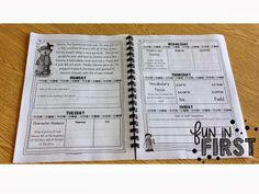 Daily Comprehension Notebook, this would be great to use with the high kinder reading group. I would use stories from the reading curriculum though.
