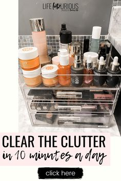 Click to read how to clear the clutter in your home on Life Lutzurious! What if I told you I had a system that could help you clear the clutter from your home in 10 minutes a day? Would you believe me? Clutter control declutter. Decluttering ideas feeling overwhelmed how to organize. Decluttering ideas minimalism bedroom. Decluttering ideas bedroom small spaces storage solutions. Decluttering tips clutter free home. Clutter organization bedroom small spaces. #organize #clean #organization Clutter Organization, Organization Ideas, Decluttering Ideas Feeling Overwhelmed, Clutter Control, Clutter Free Home, Bedroom Small, Make An Effort, Winter Fashion Outfits, Whole 30 Recipes
