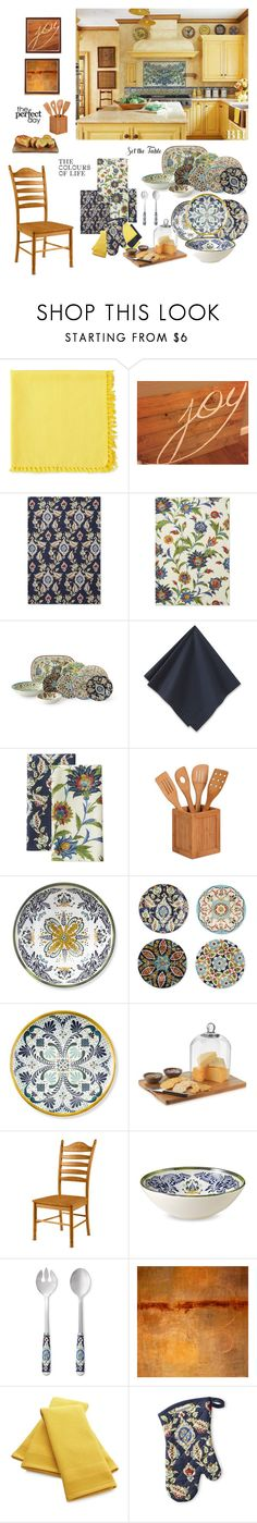 """""""The Perfect Day"""" by wendyfer on Polyvore featuring interior, interiors, interior design, home, home decor, interior decorating, Fiesta, Williams-Sonoma, Honey-Can-Do and Libbey"""