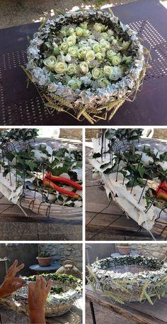 Basket of flowers Deco Floral, Arte Floral, Love Flowers, Fresh Flowers, Gregor Lersch, Flora Design, Orchid Arrangements, Flower Decorations, Flower Designs