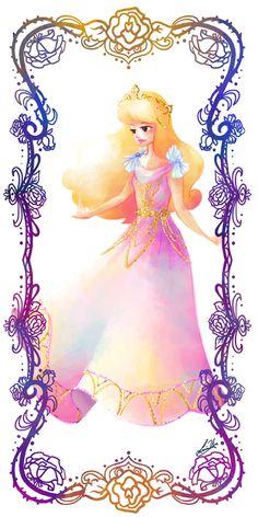 Deco Disney: Aurora by Lorraine Yee.