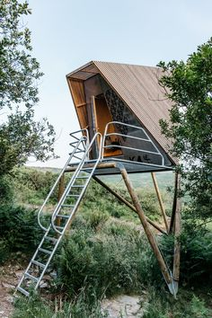A hideout in a Cornish wilderness. Stay in one of Kudhva's treetents or cabins, nestled on a stunning property of nature only 10 minutes from coastal views. Tenda Camping, Shelter, Architecture Design, Tree Tent, Large Sheds, Tree House Designs, Tiny House Cabin, Play Houses, Glamping
