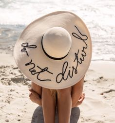 do not disturb #hat #summer #beach #fashion #pixiemarket