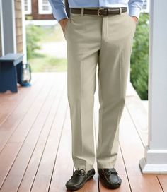 ff978db7db3f2 Men s Wrinkle-Free Double L  Chinos
