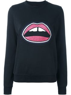 MARKUS LUPFER 'Layer Lip Anna' sweatshirt. #markuslupfer #cloth #sweatshirt