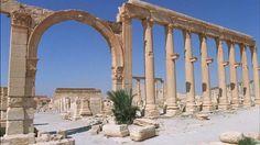 La start-up française Iconem  mène une mission de numérisation de #Palmyre pour sauvegarder #patrimoine et #culture