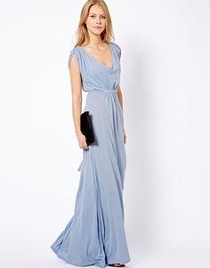 Breathtaking elegance. French Connection Hi Low Grecian Dress