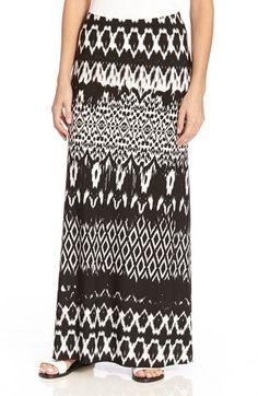 Karen Kane Stripe Print Maxi Skirt available at #Nordstrom