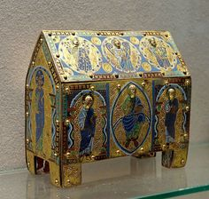 A reliquary of St. John the Baptist, Louvre Museum
