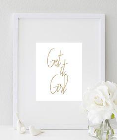 Get It Girl! print