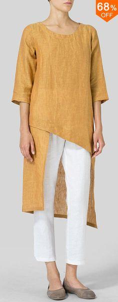 Plus Size Elegant Sleeve Irregular Hem Women Blouse Images - Banggood Fashion Moda, Diy Fashion, Trendy Fashion, Plus Size Fashion, Fashion Outfits, Womens Fashion, Fashion Blouses, Fashion Sale, Fashion Sewing
