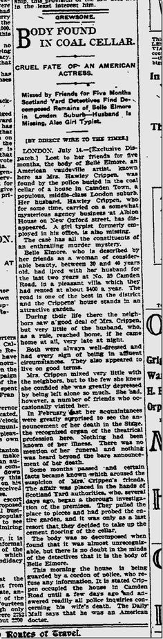 Dr. Hawley Harvey Crippen | Daily Mirror | Murderpedia, the encyclopedia of murderers