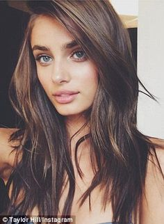 Chopped her long locks? Victoria's Secret Angel Taylor Hill shocked the fashion industry w...