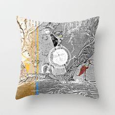 Island Massala Throw Pillow by ChiTreeSign - $20.00