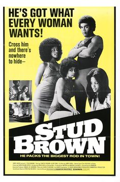 """Stud Brown"" aka ""Dynamite Brothers"" Director: Al Adamson Stars: Timothy… Old School Movies, Old Movies, Vintage Movies, Great Movies, Old Movie Posters, Cinema Posters, Vintage Posters, Retro Posters, Movie Posters"