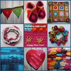 Lots of crochet inspiration on this blog!
