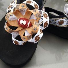 Saints flip-flops
