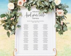 Purchase this listing to receive 3 high resolution Seating Chart Template DOWNLOADS for you to edit and print how and where you'd like! Download your high resolution template(s) instantly after your payment is complete!H O W ⋆  I T ⋆ W O R K S----------------------------------------------1. Checkout