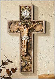 Holy Spirit Wall Crucifix - Catholic Faith Store
