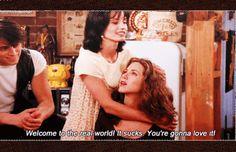 Monica pociesza Rachel