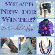 See what's new and exciting for this winter season. We're always adding new crochet patterns and you're bound to love these new designs.