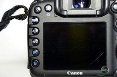 Display und Einstellungsknöpfe Canon Eos, Reflex Camera