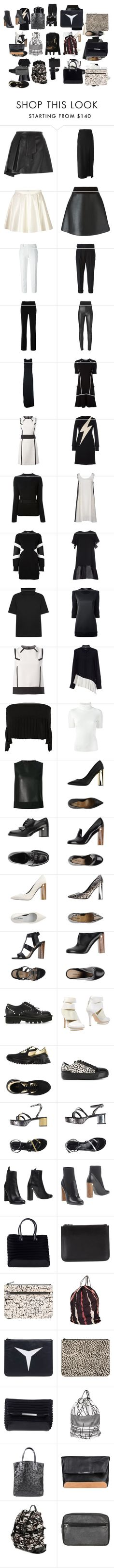 """Untitled #3350"" by luciana-boneca on Polyvore featuring Neil Barrett, women's clothing, women's fashion, women, female, woman, misses and juniors"