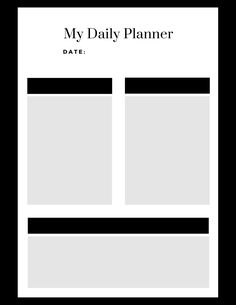 Choose from 50 different designs of free daily planner printables! Made to be simple, vertical calendar prints for your binder or desk. Black and white, minimalist, floral, and other options available. Cute Calendar, Daily Calendar, Print Calendar, Daily Planner Printable, Parent Resources, Good Advice, Getting Organized, Binder, Free Printables