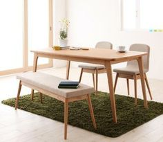 Table + bench + Chair