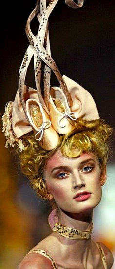 Headdress - Christian Dior Haute Couture