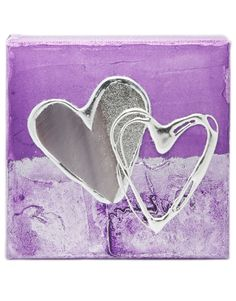 Purple Artbloxx Canvas 03 Silver Wall Art, Small Canvas, Art Uk, Contemporary Art, Purple, Contemporary Artwork, Viola, Silver Wall Decor, Modern Art
