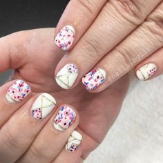 "133 Likes, 4 Comments - Liz Henson (@nails.byliz) on Instagram: ""Pinterest inspo! Loving all these spring nails lately! . . . . #nails #gelnails #nailstagram…"""