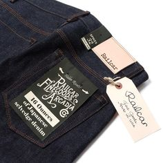 """Our Favourite Railcar Fine Goods Jeans """"Spikes X009 Slim Straight"""""""