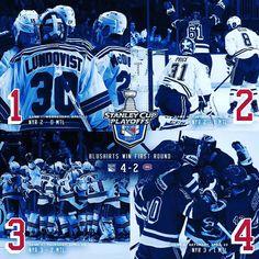 Rangers Hockey, Hockey Teams, Montreal Canadiens, First Round, New York Rangers, News, Instagram Posts, Blue