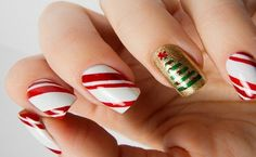 Christmas Nails Art 2013