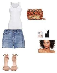 """""""Untitled #65"""" by paulans on Polyvore featuring Moschino, American Vintage, GRLFRND, Stuart Weitzman and Marc Jacobs"""