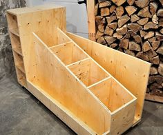 The Ultimate Lumber Storage Cart : 6 Steps (with Pictures) - wood workings bedroom Woodworking Basics, Easy Woodworking Projects, Woodworking Furniture, Custom Woodworking, Fine Woodworking, Diy Wood Projects, Woodworking Classes, Youtube Woodworking, Woodworking Machinery