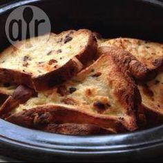 Slow cooker hot cross bun loaf pudding @ allrecipes.co.uk