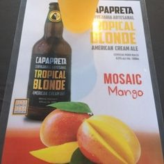 Capa preta Tropical Blonde Mosaic Mango