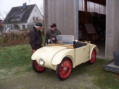 "It's a cute car, sure. But it wins me on the name... ""Hanomag Kommisbrot."" Classic!"