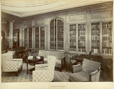 Bookcase in library [Mauretania] by SMU Central University Libraries, via Flickr