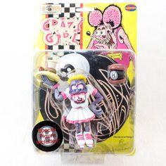 RAT FINK Action Figure Series Crazy Girl Planet Toys Art Storm 1998 JAPAN