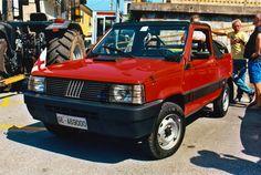 1987 Fiat Panda 4x4 pick-up by GladiatorRomanus