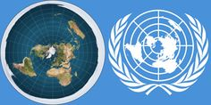 The UN use the same map the Flat Earth