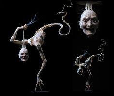 STREETS OF BEIGE: 'Grandmama' - nightmarish sculpture by Forest Rogers