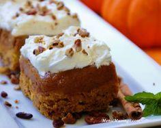 Menu Musings of a Modern American Mom: Pumpkin Upside Down Cake