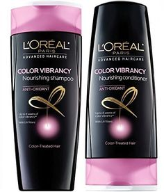 Loreal Advanced Haircare Color Vibrancy Shampoo  Conditioner 126 Fl Oz by Unknown >>> You can find more details by visiting the image link.(This is an Amazon affiliate link and I receive a commission for the sales) #ShampooandConditionerSets