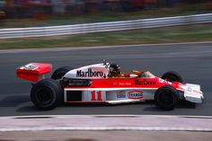 James Hunt (GBR) (Marlboro Team McLaren), McLaren M23 - Ford-Cosworth DFV 3.0 V8, 1976 British Grand Prix, Brands Hatch