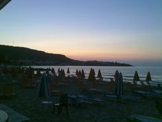 Sunset in Stalis, Crete, Greece